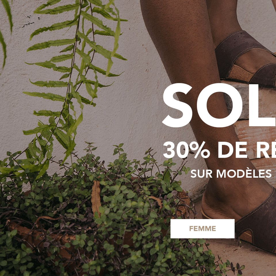 Chaussures vèganes - Soldes femme