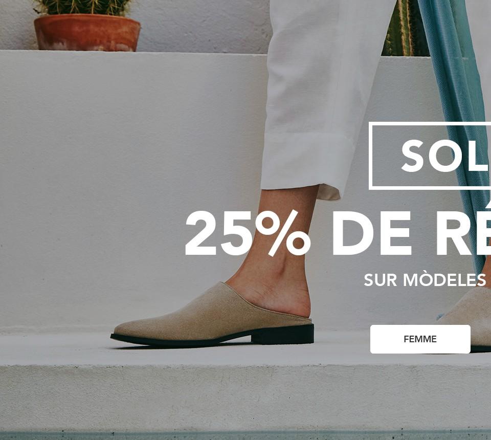 Chaussures véganes - Soldes femme