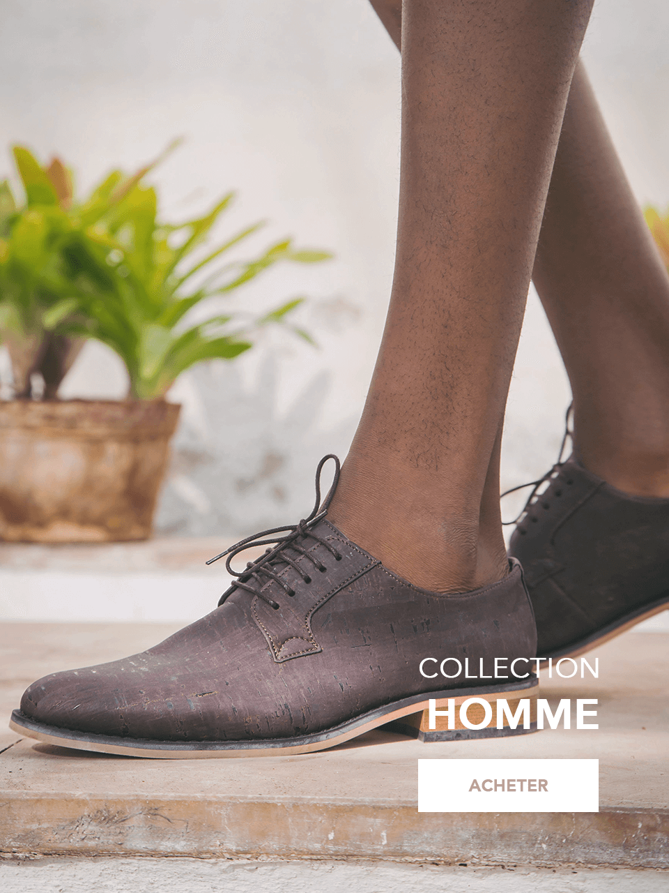 Nouvelle Collection chaussures veganes SS 20 homme vegane schuhe