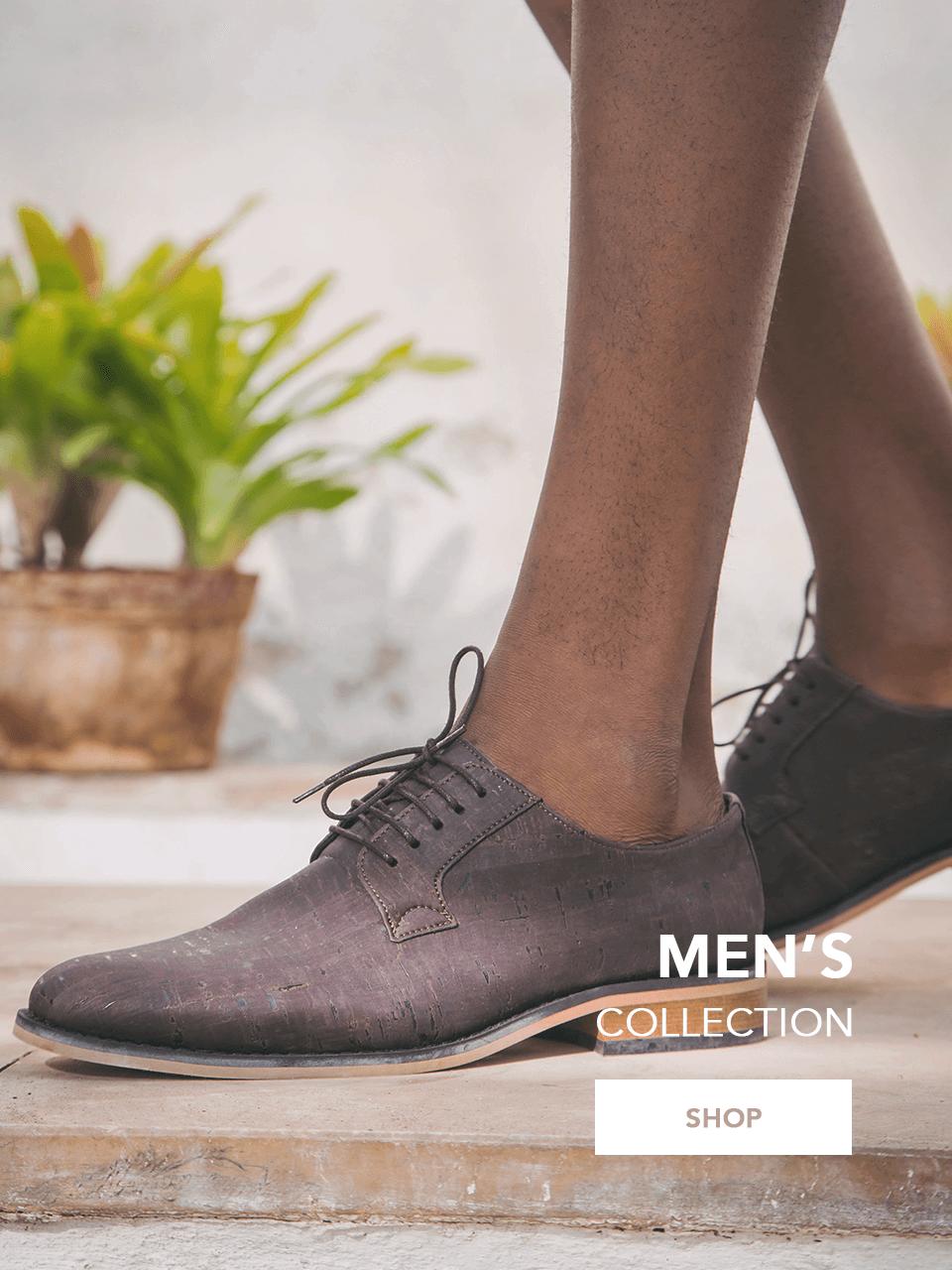 New Collection vegan shoes SS 20 men vegane schuhe