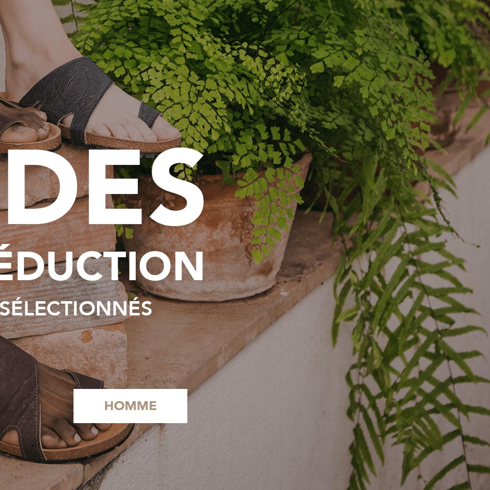 Chaussures vèganes - Soldes homme