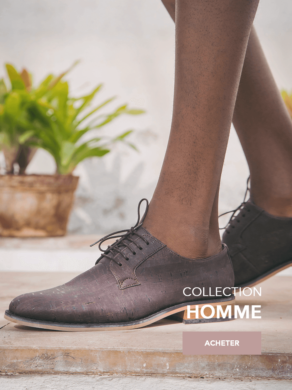 Nouvelle Collection chaussures veganes SS 20 homme vegane schuhe_1