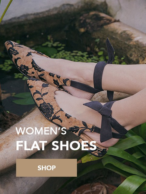 vegan shoes womens flat shoes_1