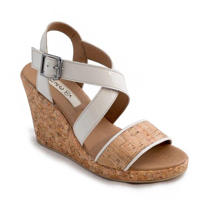 Cleo Vegane Sandaletten kork damen