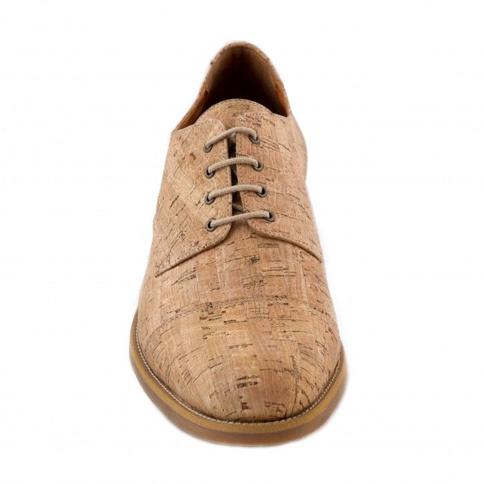 Man vegan derby shoe