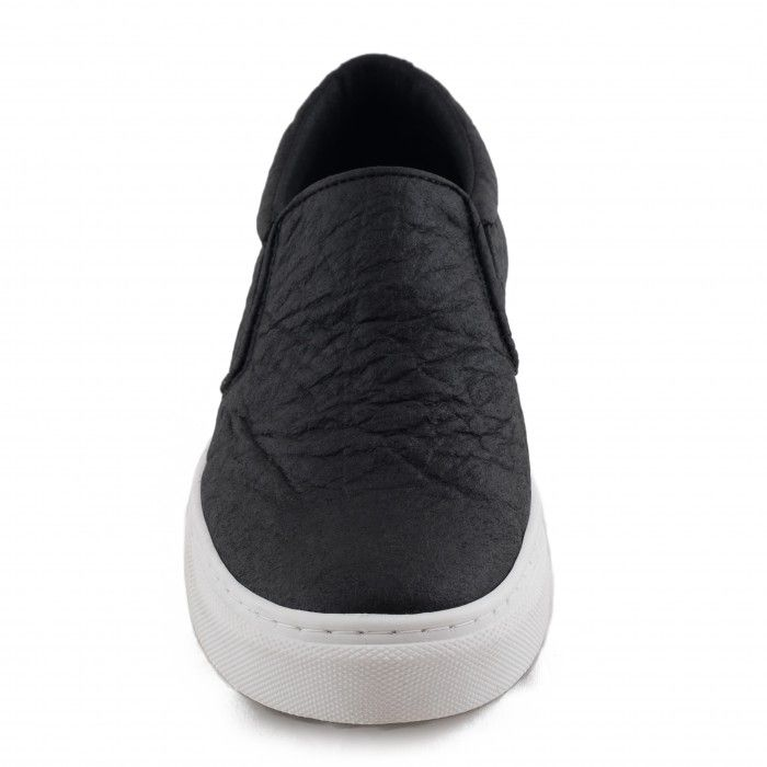 Bare Black Piñatex Vegan Shoes