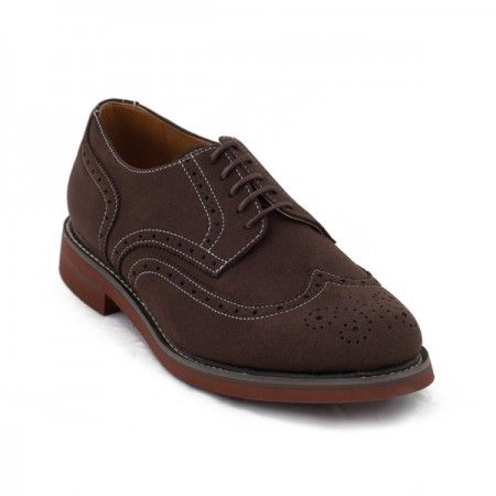 lito brown derby shoes men vegan