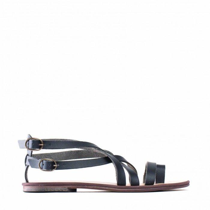 Itaca Woman vegan gladiator sandal flat