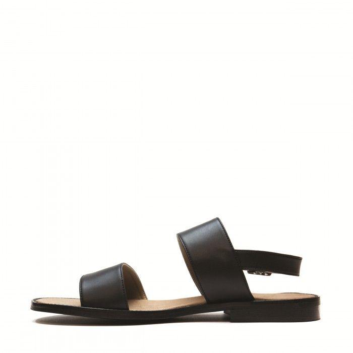 Vale sandália duas tiras sola rasa homem vegan