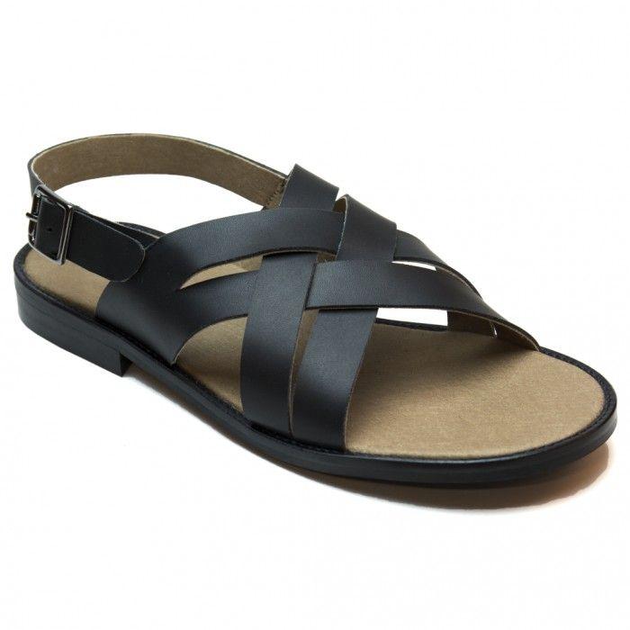 man vegan sandal