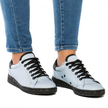 Airbag Blue vegan sneakers man woman unisex