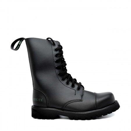 Vegan Steel Toecap Boots Man Woman