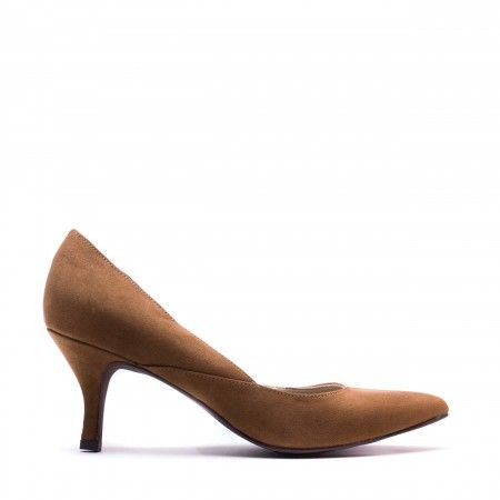 Nina Brown woman vegan d'orsay shoe