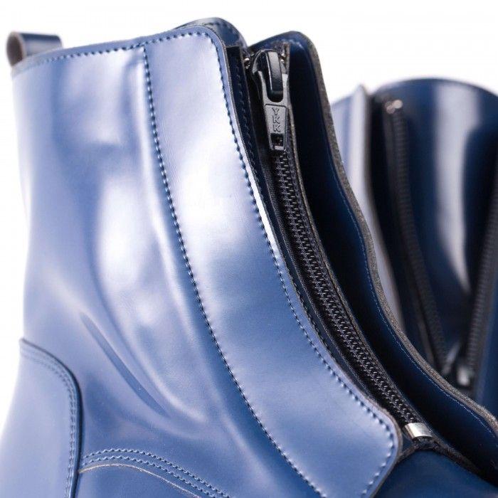 Zipme Blue bottine végane femme