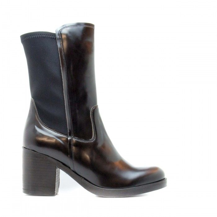 Nuria woman vegan over ankle boot black