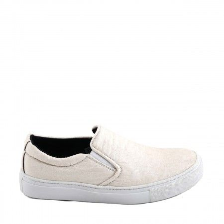 Bare White Piñatex Vegan Shoes