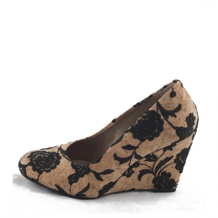 Dalia Woman vegan wedge shoe cork