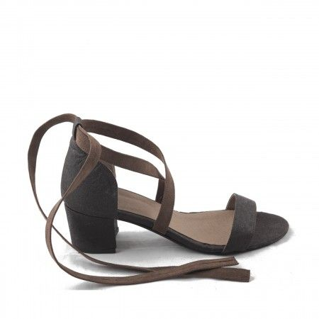 Clau Brown Pinatex Vegan Sandals