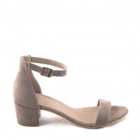Irene Brown Woman vegan ankle strap sandal