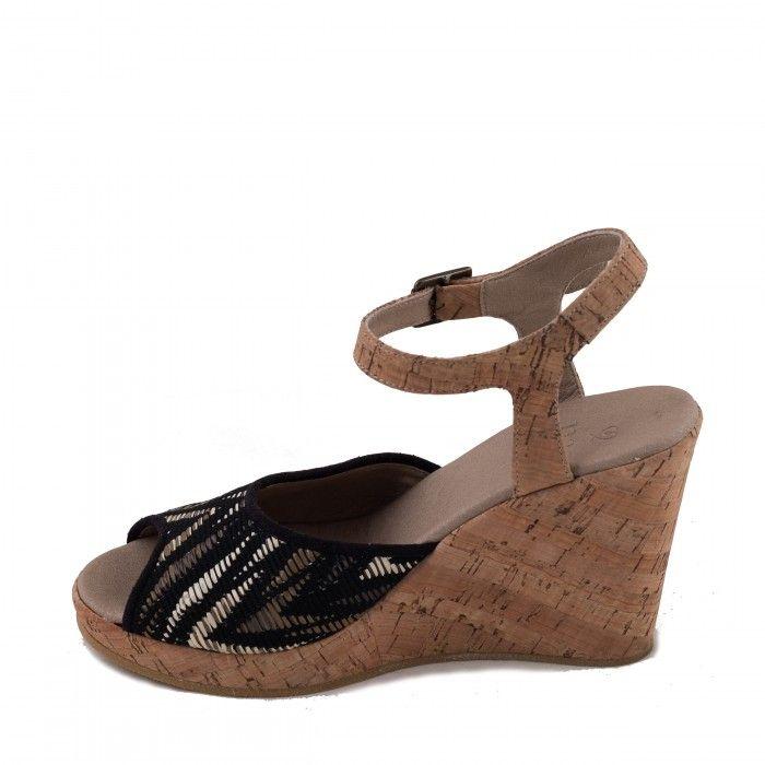 Maika Vegane Sandaletten kork damen