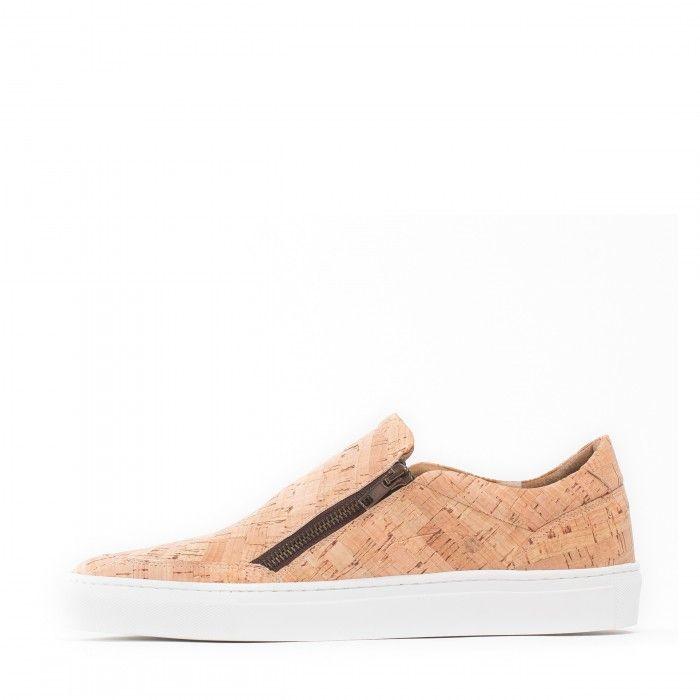 Zapato vegano corcho