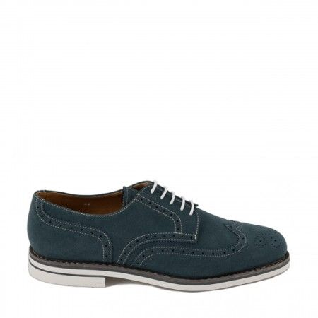 lito blue derby shoes men vegan