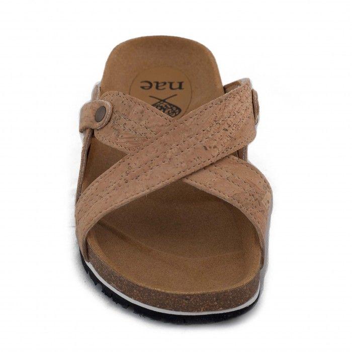 paxos cork sandália de cortiça mulher vegan