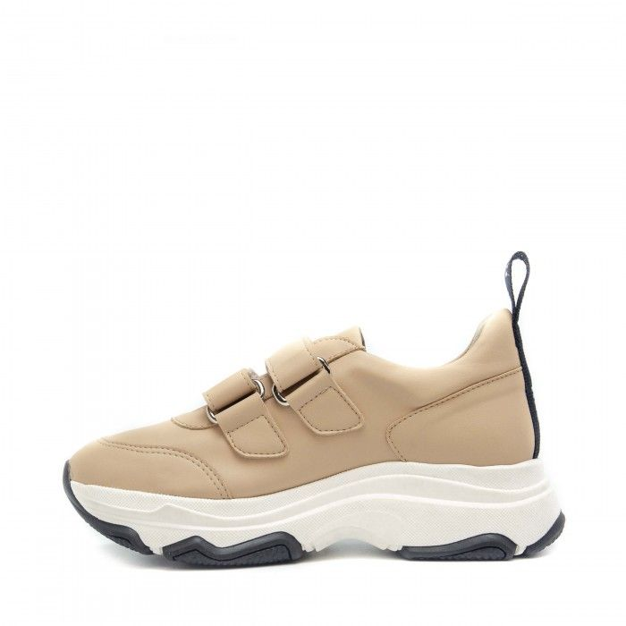 Coline nude chunky sneakers women vegan