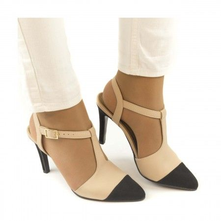 alya nude point cap t strap shoe stiletto heel women vegan