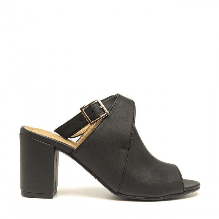 Atik black  Peep Toe Schuhe