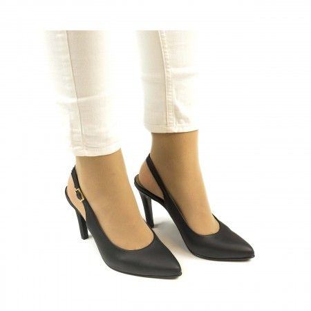 Capela Black Vegan Shoes