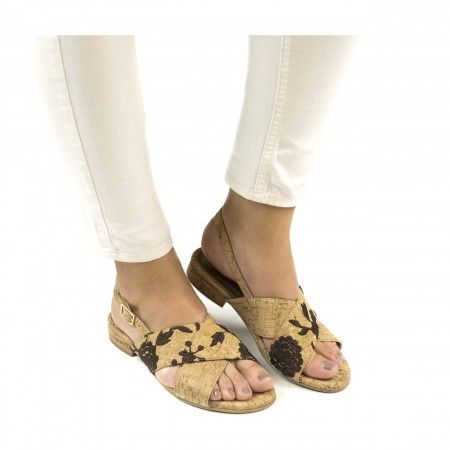 Kajam Cork Vegan Sandals
