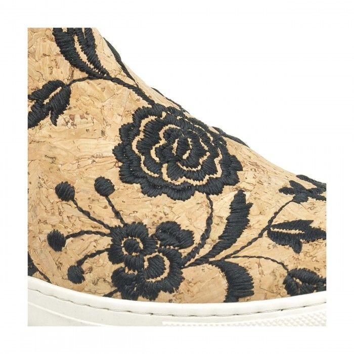 Niza Cork zapatilla hecha de corcho