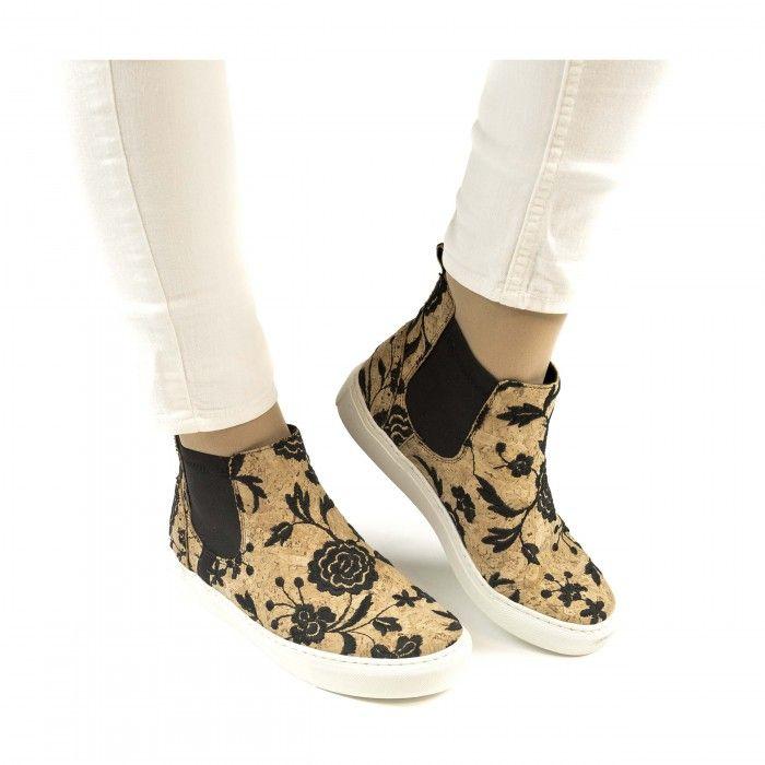 Niza Cork Chelsea sneakers aus kork