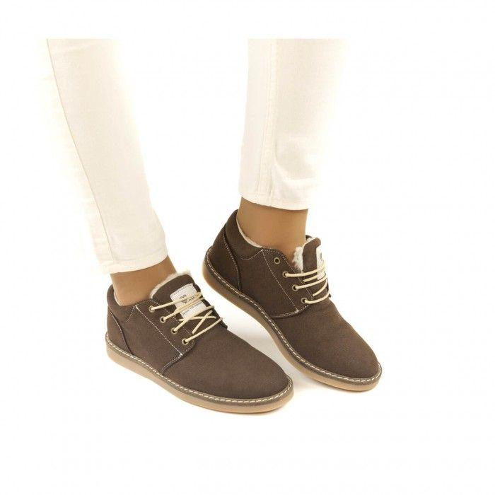 Pipa Brown chaussure végane femme marron