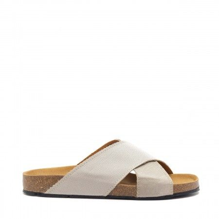 Re-Car Prateada PET Reciclado Vegan Sandals