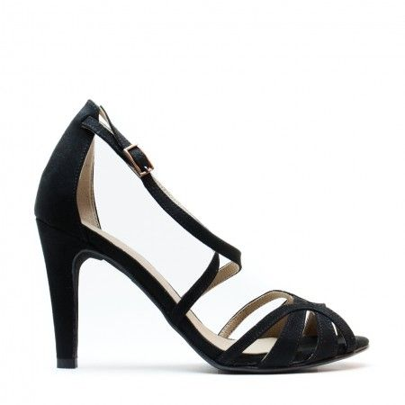 Adri Black Vegan Sandals
