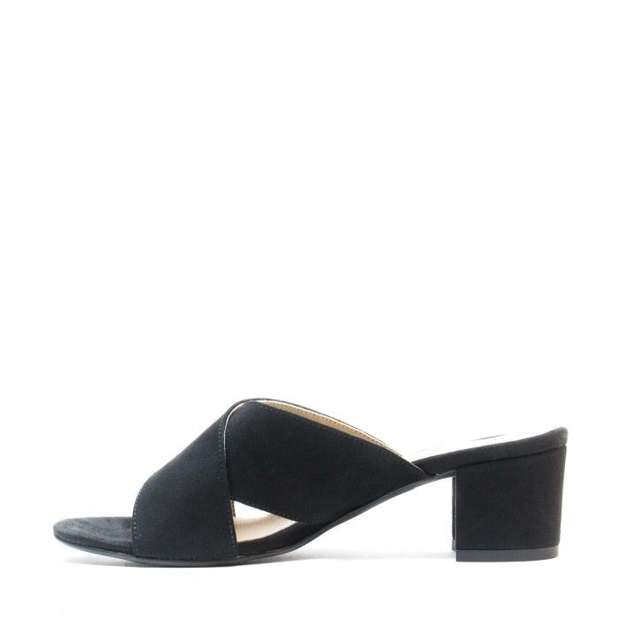 Anita Black Vegan Sandals