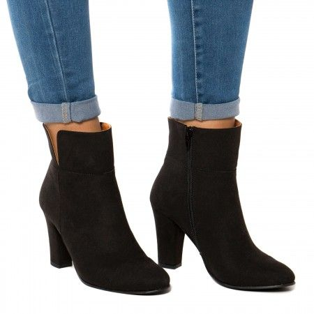 Bline Black Vegan Boots