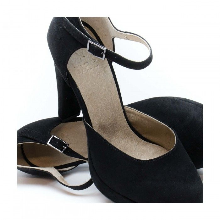 Erica Black Vegan Sandals