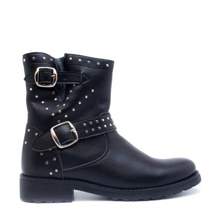 Gabri Black Vegan Boots
