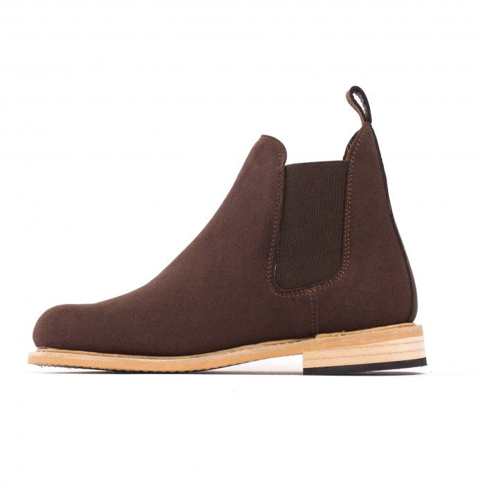 Garin Brown Vegan Boots