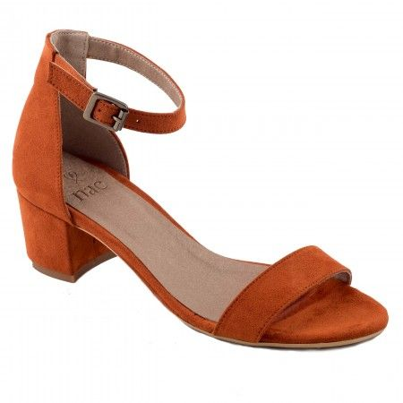 Irene Orange Veganes Sandalen