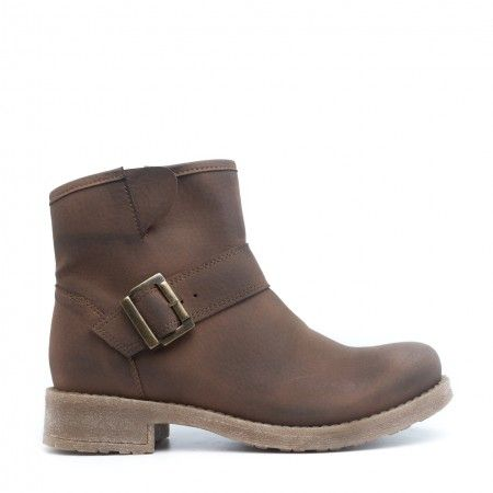 June Marron Bottes Veganes
