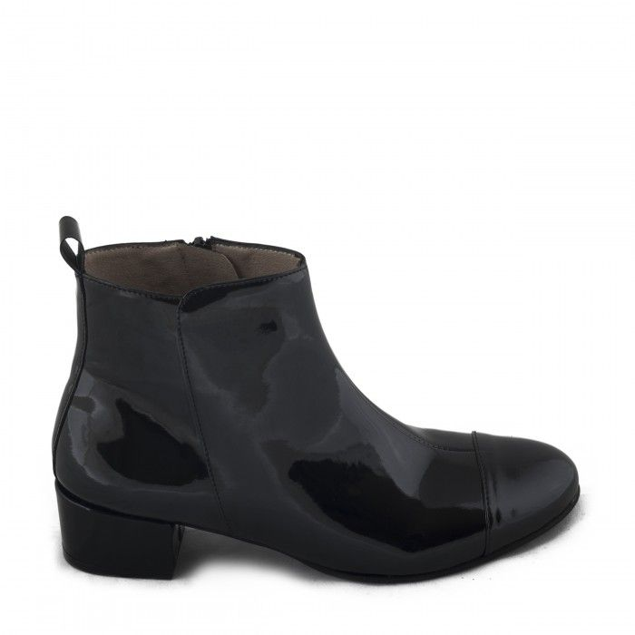 janeth black ankle boots women vegan