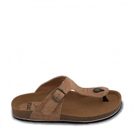 kos cork thong sandal women vegan
