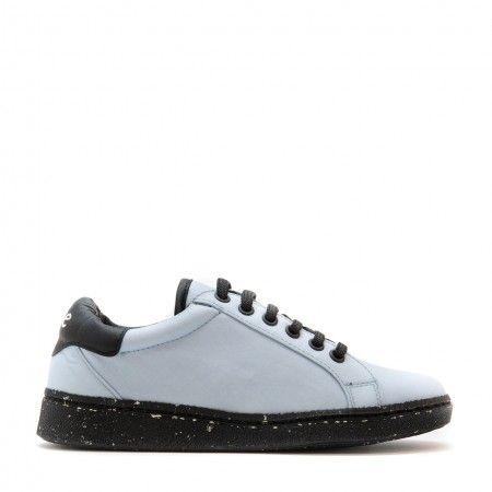 Airbag Blue Vegane Schnür Sneakers damen herren blau