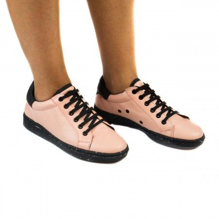 Airbag Pink Vegan Sneakers