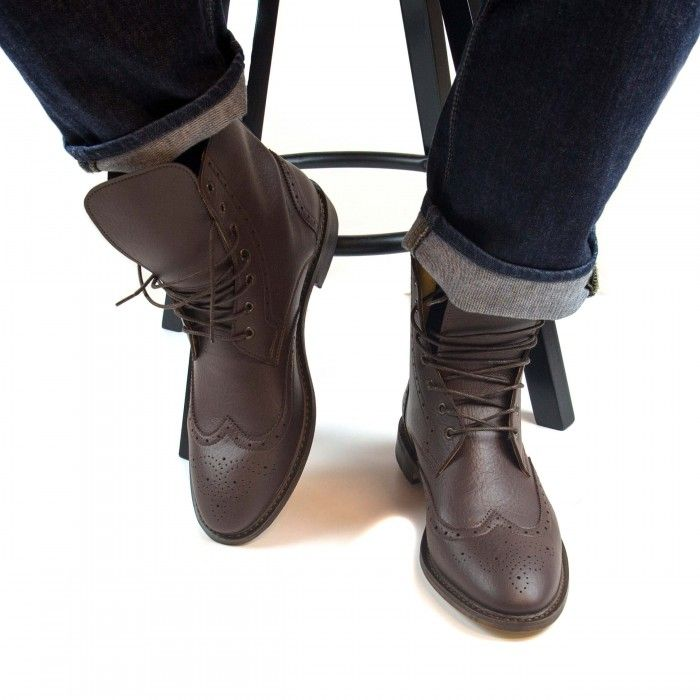 Alex Brown Vegan Boots