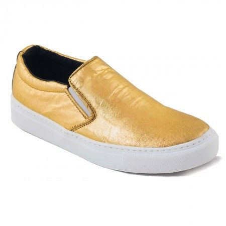 Bare Gold Piñatex vegan sneakers woman pineapple